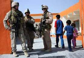 <!--:es-->Marines thwart insurgents' attempt to destroy new Iraqi school for girls<!--:-->