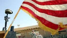 <!--:es-->U.S. Army battalion honors second fallen soldier since arrival in Iraq<!--:-->