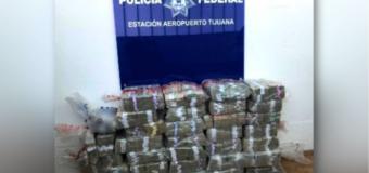 Detectan contrabando de 10 millones de dólares por puerta de emergencia del Aeropuerto de Tijuana
