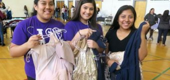 Prom dress dreams come true at Sunset High School