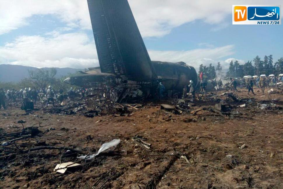 Military Plane Crash Is Algeria's Worst Aviation Disaster