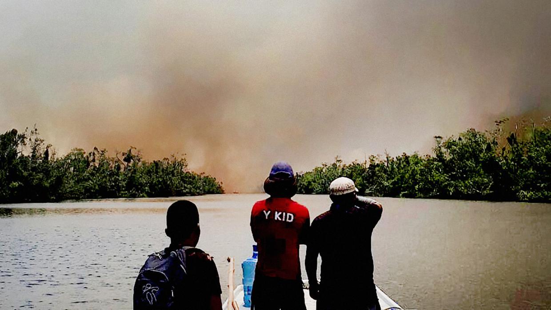 Un incendio calcina miles de hectáreas de una de las reservas naturales más  importantes de Centroamérica