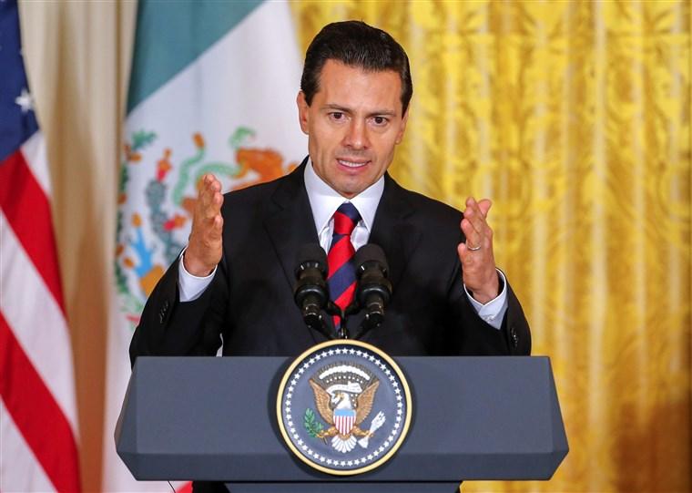 """""""Nunca vamos a negociar con miedo"""": Peña Nieto responde a la retórica antiinmigrante de Trump"""