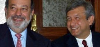 Carlos Slim y López Obrador,  enfrentados por la construcción de un aeropuerto en México
