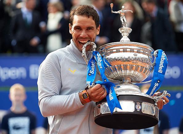 Nadal logra su undécimo título en el Barcelona Open