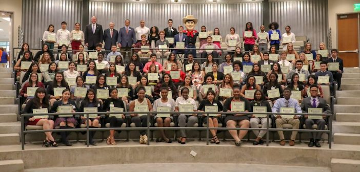 State Fair of Texas awards more than $600,000 in  college scholarships to 105 Dallas ISD students