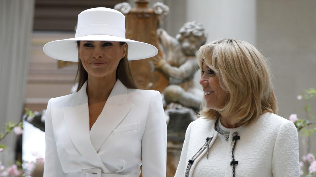 """""""No puede ni abrir una ventana de la Casa Blanca"""" dice la primera dama  francesa  sobre  Melania Trump"""