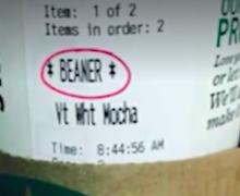 Latino Man Insulted When Starbucks Barista Writes Slur On Cup