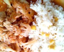 Riquísima, fácil y Saludable receta de Pollo con Coliflor