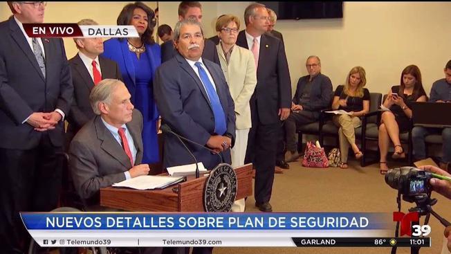 Gobernador de Texas revela  plan de  seguridad escolar
