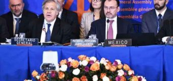 México reitera su rechazo al muro de Trump en la OEA