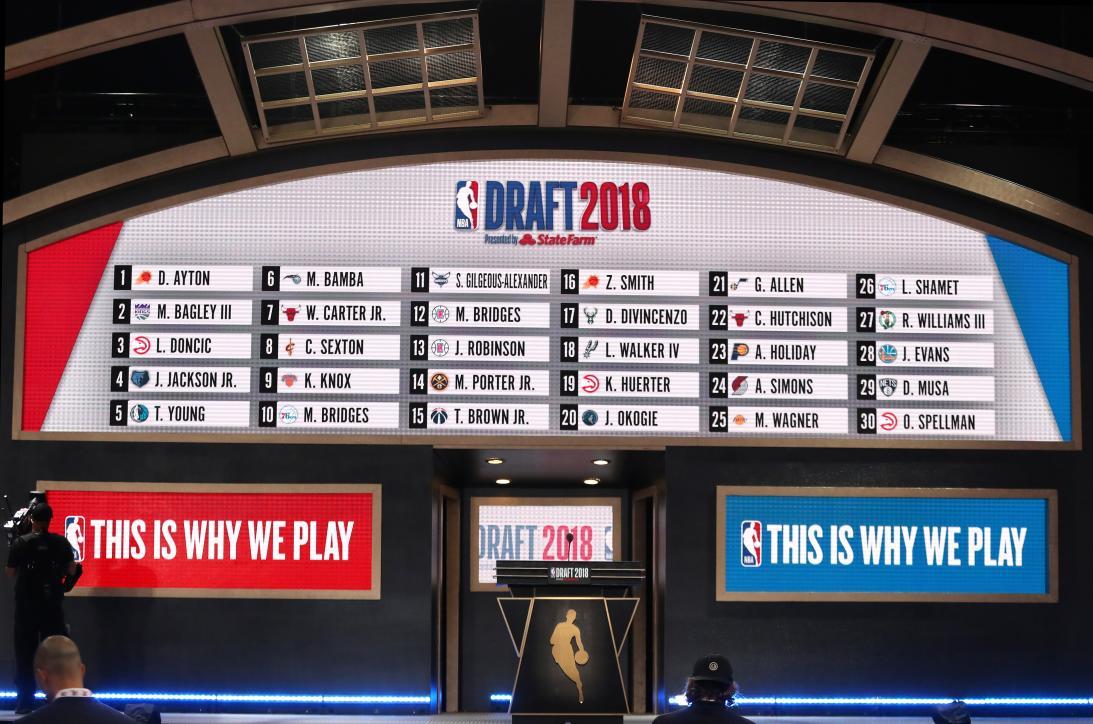 Así se vivió la edición 2018 del  Draft de la NBA desde Brooklyn