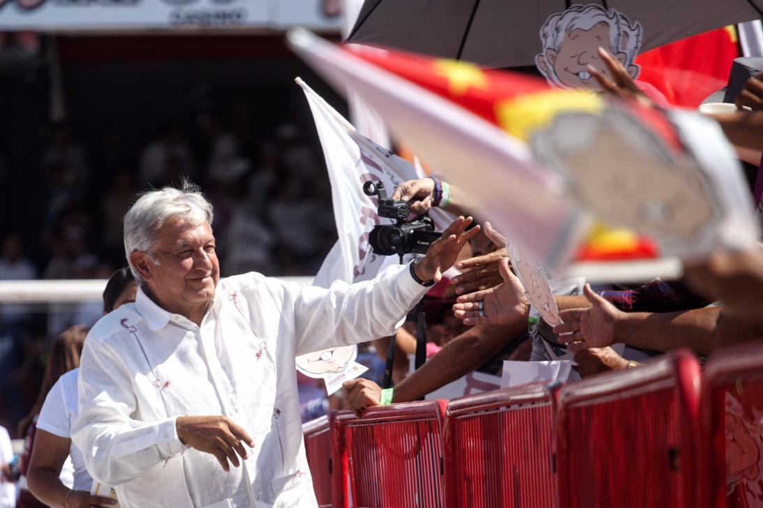 Los candidatos en la recta final de la campaña  para las presidenciales del 1 de julio en México
