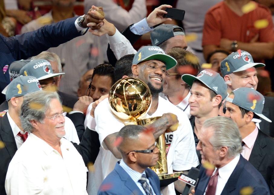 LeBron James, nuevo jugador de Los Angeles Lakers