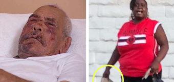 La acusan de brutal paliza a ladrillazos contra abuelo hispano