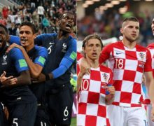 Francia  VS  Croacia   la final del Mundial  Rusia 2018