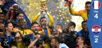 ¡Francia es campeona del mundo tras golear 4-2 a Croacia!