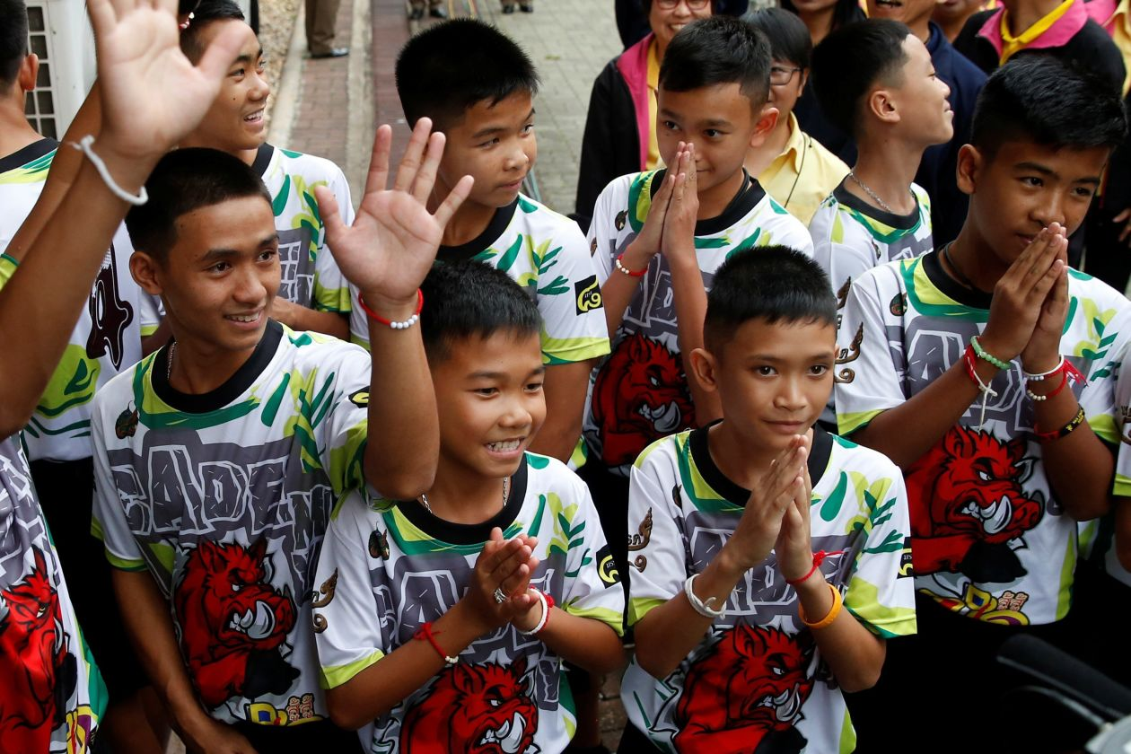 Thailand Boys Recount Their Ordeal in Cave