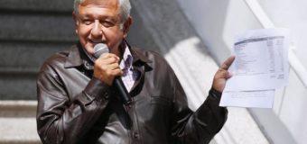 López Obrador se recortará el sueldo un 60% como  parte de su plan de austeridad para México