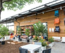 Cool North Dallas shopping center adds quintessential Deep Ellum touch