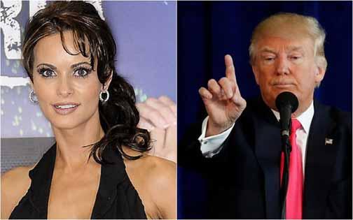 Revelan un audio en el que Trump sugiere que se  compre el silencio de una exmodelo de Playboy