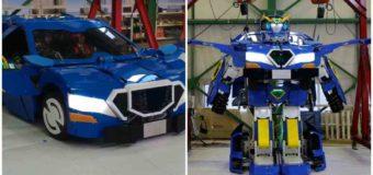 En Japón  crearon un Transformer  real