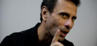 Henrique Capriles: Venezuela va hacia una implosión