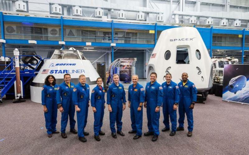 La NASA anuncia tripulación que viajará al espacio en 2019