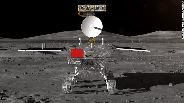 Este es el vehículo que  China enviará a la parte oculta de la Luna