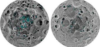Hay  agua  congelada  en la  Luna