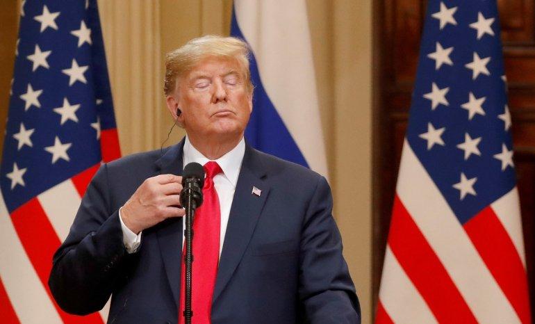 """Donald Trump advierte que si los  demócratas ganan en noviembre habrá cambios """"violentos"""""""