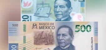 La confusión  que puede costarle caro  a los mexicanos: los billetes  de 20 y  500 pesos