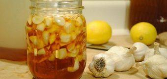 Remedio con  ajo y limón  para tratar  más de DIEZ  enfermedades como  limpiar las  arterias y  reducir el  colesterol