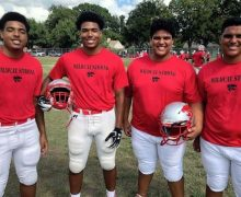 Double Trouble: Two sets of twins help power Woodrow football team