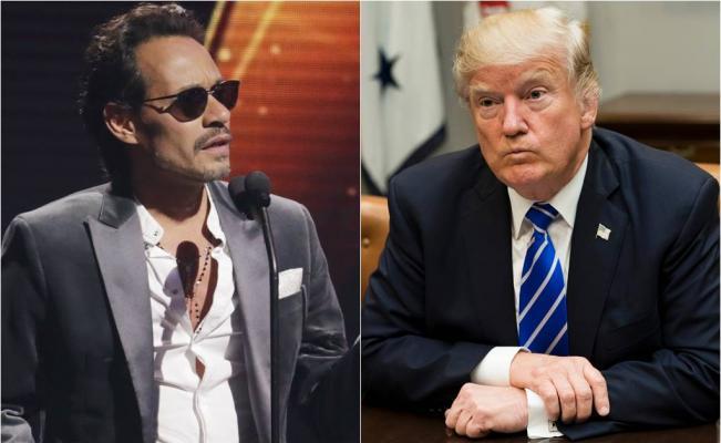 Marc  Anthony  le habla mal a  Donald Trump  y lo  culpa de la crisis en Puerto Rico