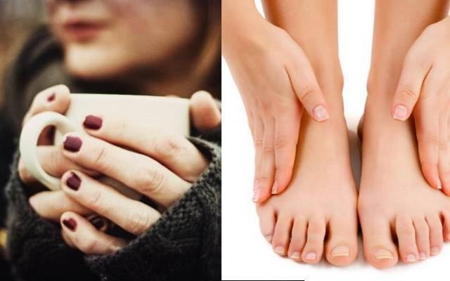 Por qué se me enfrían las manos y pies