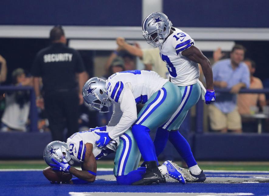 Los Dallas Cowboys sacan provecho de  unos inertes New York Giants y los derrotan