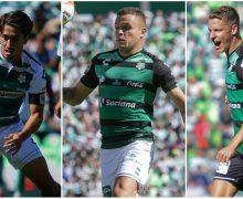 ¡Inédito! Santos utilizó tres diferentes  uniformes en el mismo partido ante León