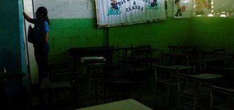 La crisis vacía las escuelas en Venezuela
