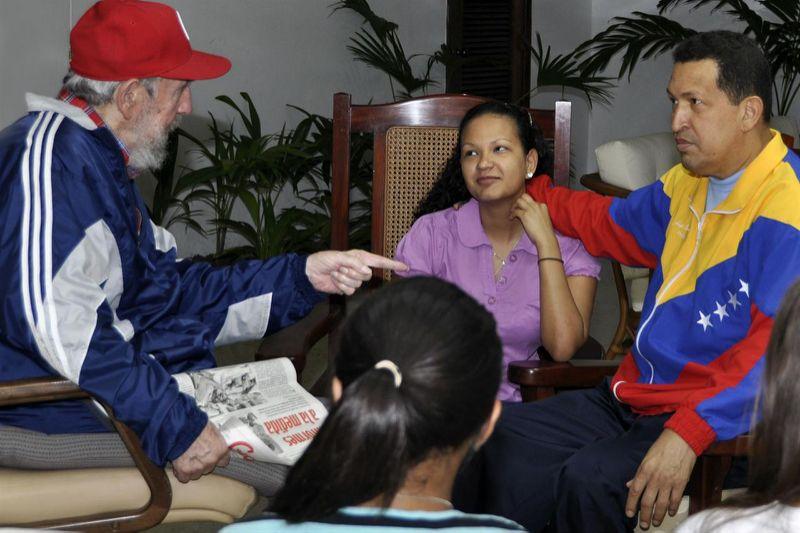 ¿Qué oculta la exenfermera y confidente de Chávez?