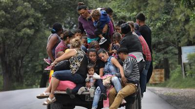 Trump amenaza cerrar la frontera si México  no actúa ante la caravana de los migrantes