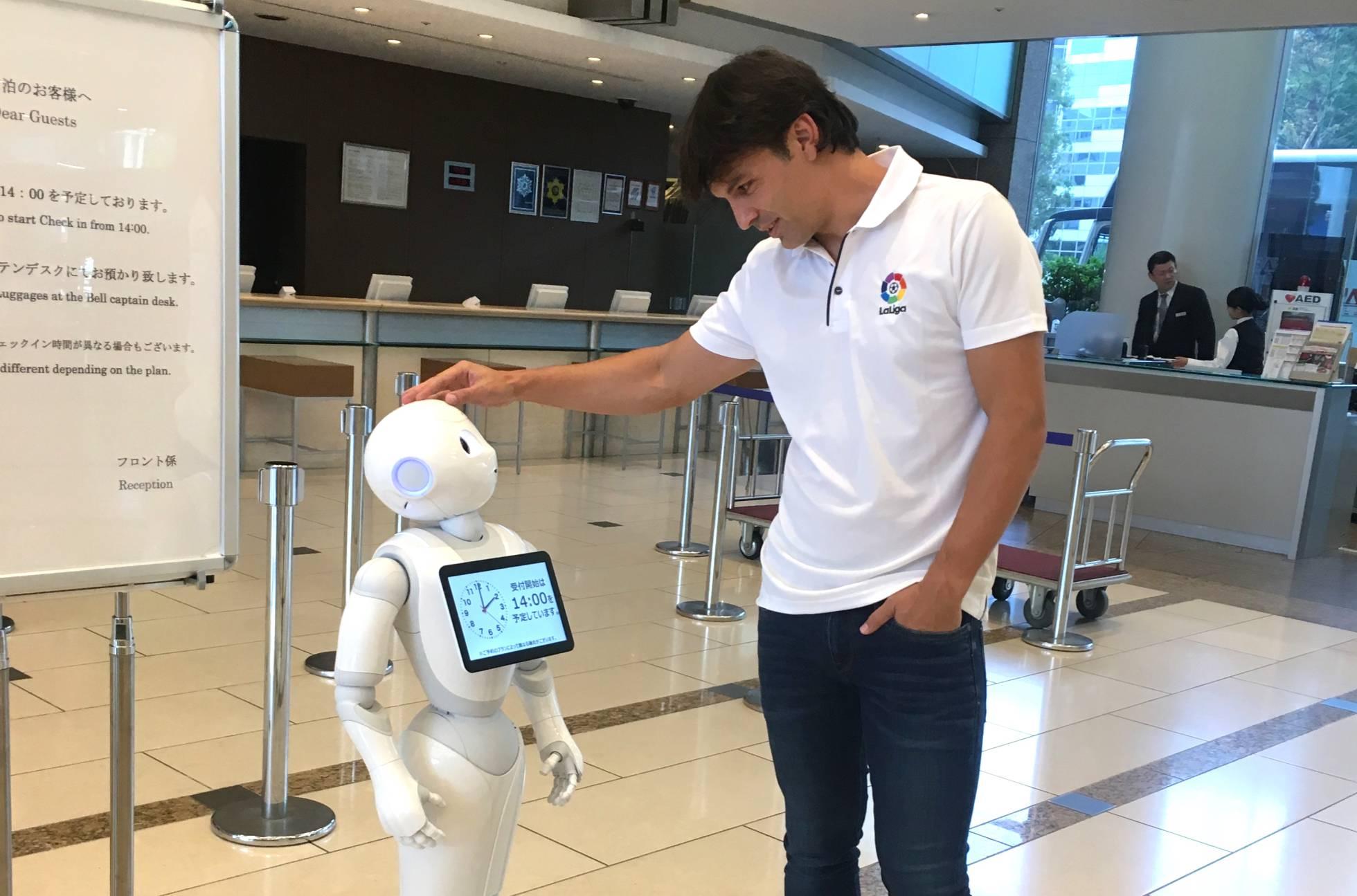 Un ejército de robots para vencer el miedo de los japoneses a hablar inglés
