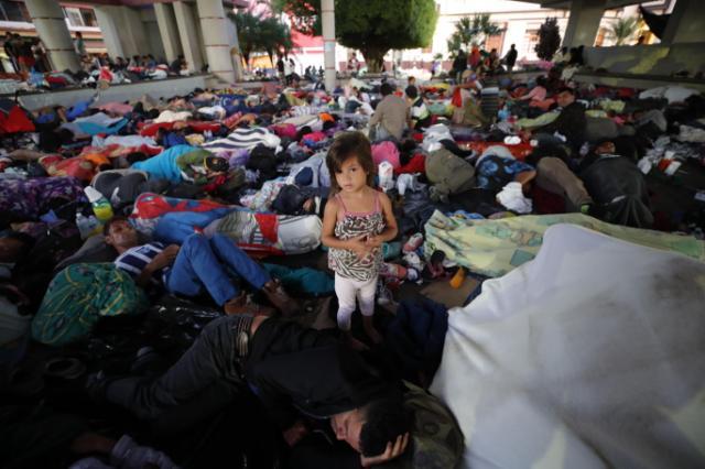 El motivo oculto que mueve la caravana de inmigrantes con rumbo a Estados Unidos: el cambio climático