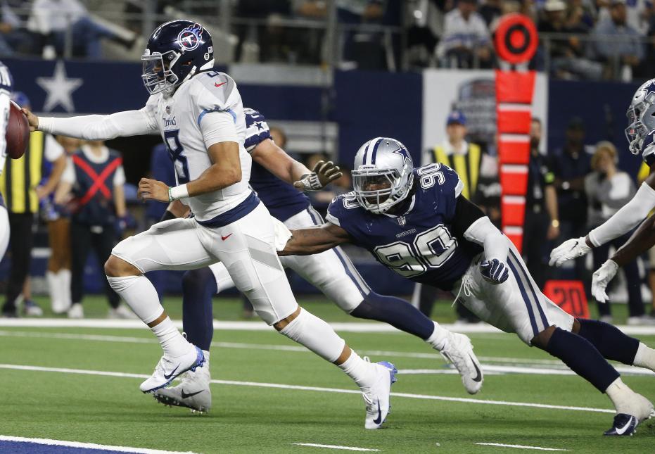 Mariota y los Titans tumban a los Cowboys y empeoran la crisis de Dallas