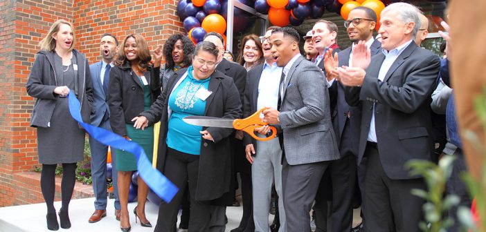 Former elementary school reopens as a youth center for homeless students