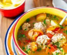 BUENA MESA:  Albóndigas Soup