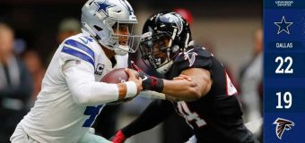 Cowboys volaron sobre Falcons y están más vivos que nunca