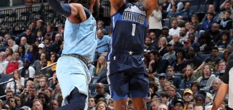 The short-handed Mavs dropped a physical  98-88 game to the Memphis Grizzlies