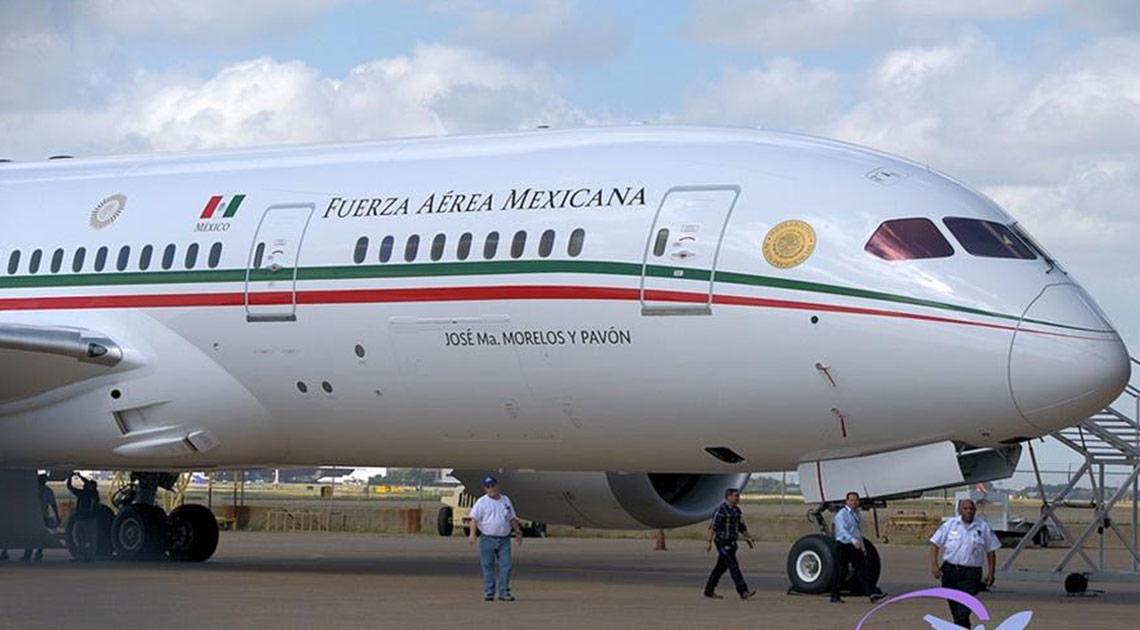 El avión presidencial de México tiene un comprador
