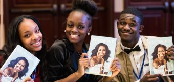 Michelle Obama surprises, inspires students to 'Reach Higher'